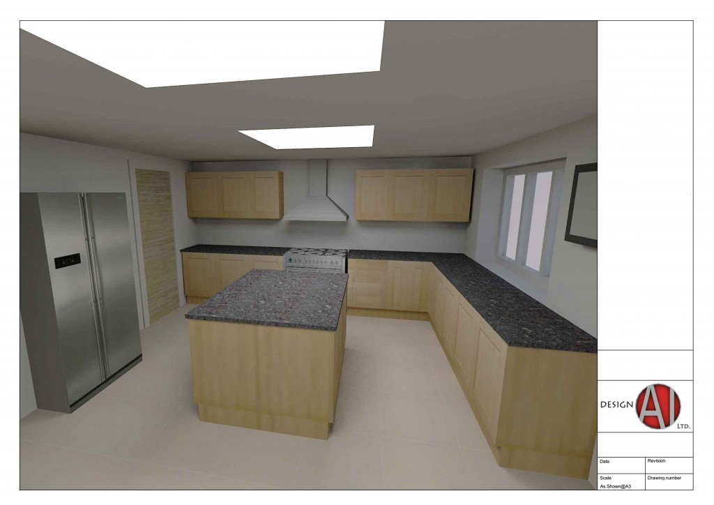 Proposed Interior Kitchen
